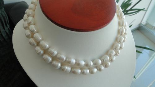 collar de perlas naturales rice  envio gratis!