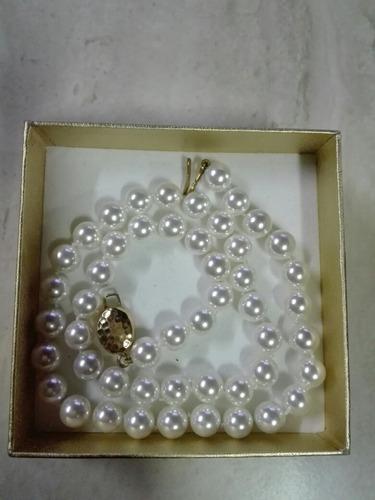 collar de perlas original