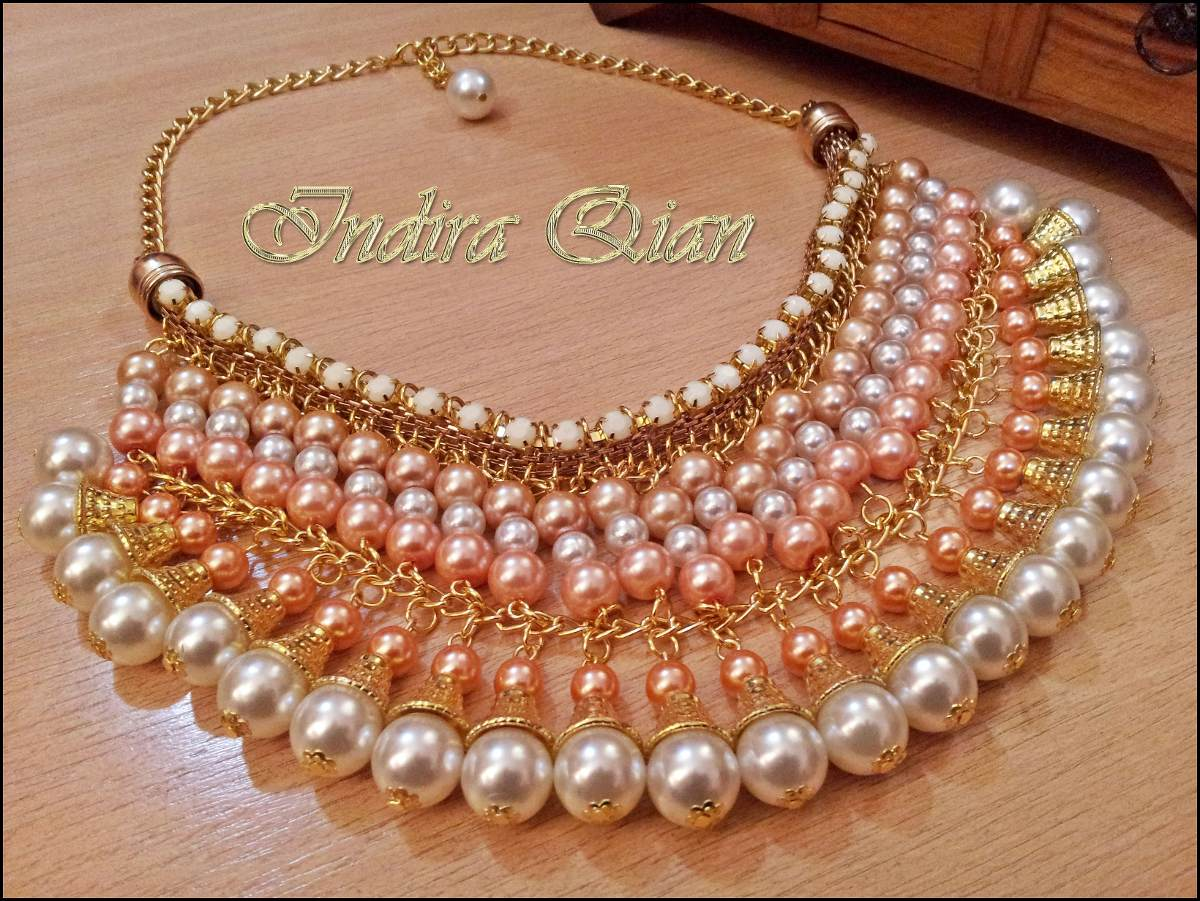 6718a805c0f3 collar de perlas para fiesta. Cargando zoom.