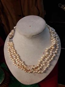 f80cff1b5ca9 Collar Con Perlas De Rio - Joyas y Relojes en Mercado Libre Argentina