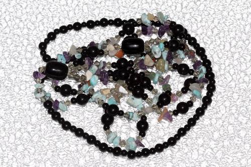 collar de piedra onix, jaspe y cuarzo ccpn595