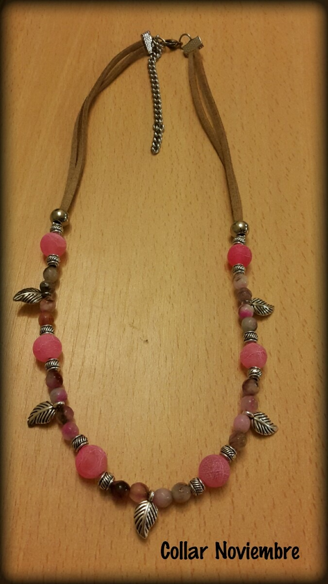 aa9ba3eec3e7 collar de piedras agata hermoso!! Cargando zoom.