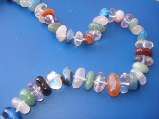 c251f1c714fb Collar De Piedras Semipreciosas Precioso Diseño -   1.350