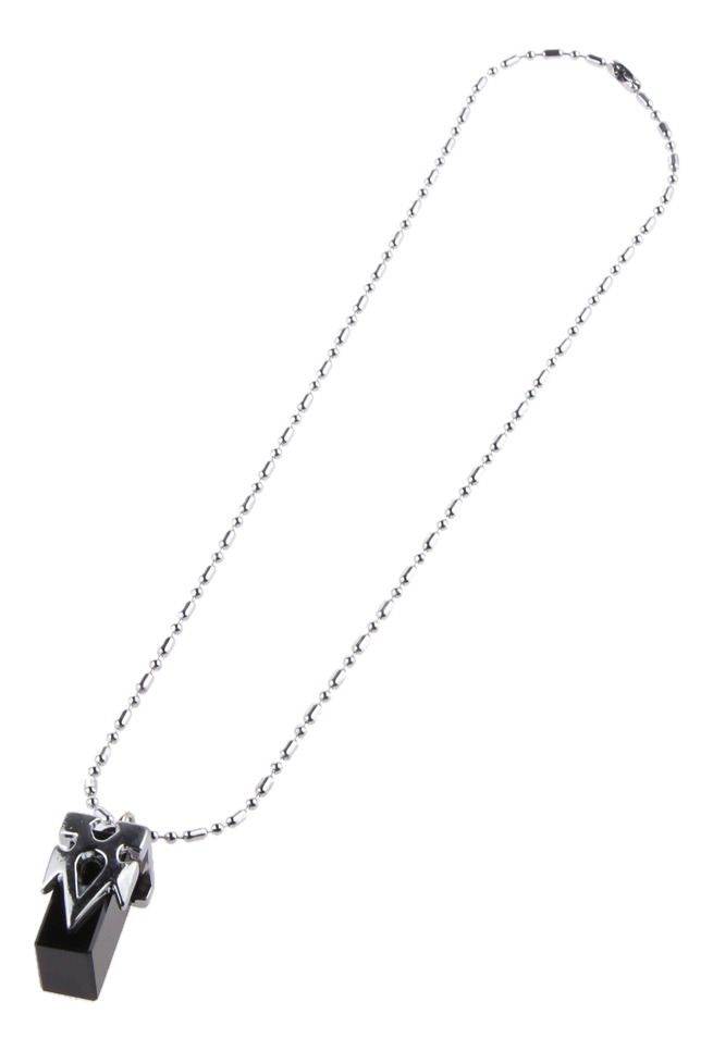 Anime Sword Art Online SAO Kirito Yuki Asuna Crystal Necklace Cosplay Pendentif