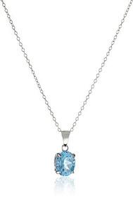 personalizadas muchos estilos estilo clásico Collar De Plata Esterlina Con Piedras Preciosas