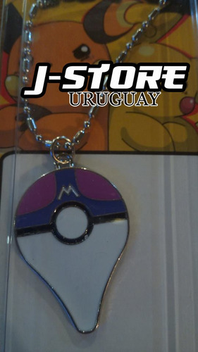collar de pokemon go plus pokebola master ball