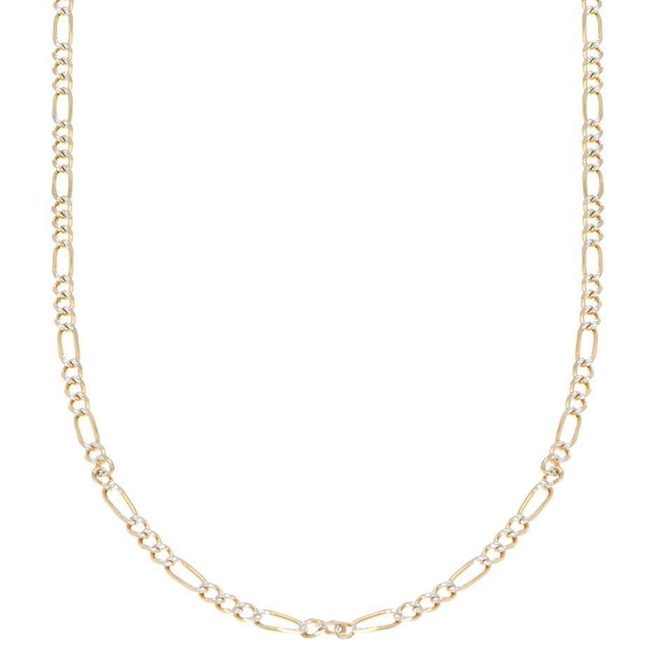 57f8ede299f9 collar de tres eslabones por uno en oro amarillo d-123035823. Cargando zoom.