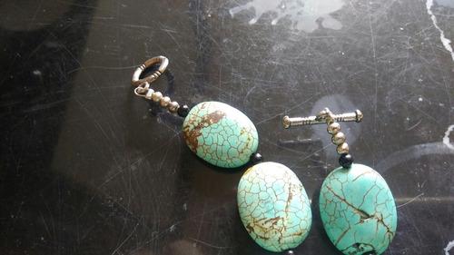 collar de turquesas. diseñado y promovido para boutique coac