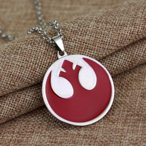 collar del símbolo de la rebelión star wars u s 8 00 en mercado