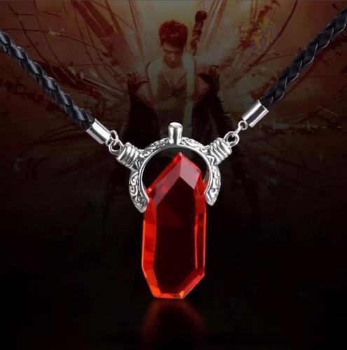 collar devil may cry envio gratis dante piedra azul o roja