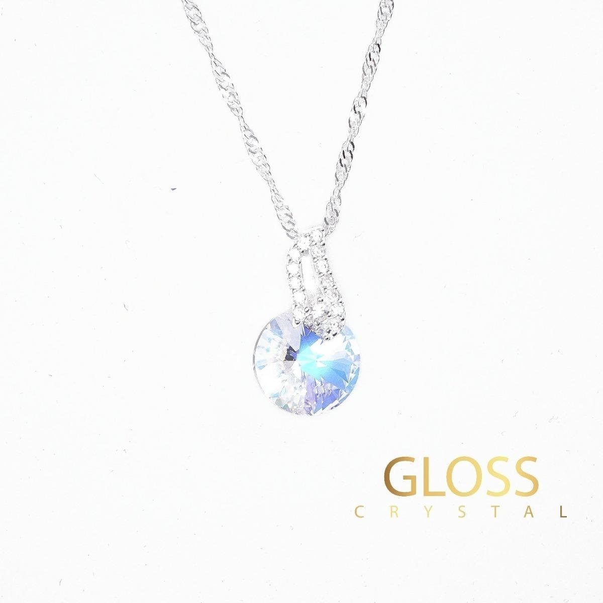 93f16e3cee97 Collar Diana Crystal R Con Cristales Swarovski -   39.990 en Mercado ...