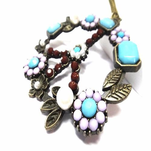 collar dije de la paz mujer moda regalo fashion look