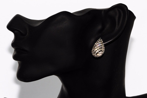 collar dije gota aretes cristales elegante vintage ce254