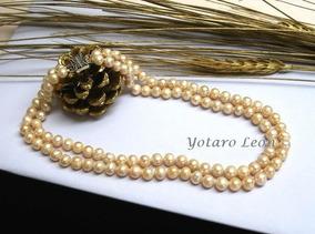 e7b20a7e2c74 Collar Perla Rio Autentica - Joyería en Mercado Libre México
