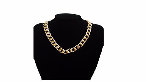 collar dorado bisutería ¡moda! ¡elegancia! ¡mayoreo!