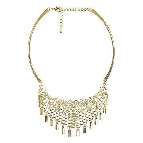 4f0c80331278 Collar Dorado Para Mujer, Tipo Gargantilla