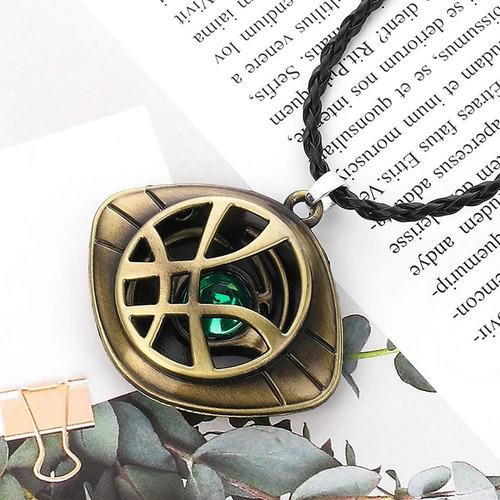 collar dr strange ojo agamotto gema del tiempo de colección