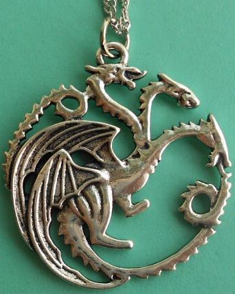 collar dragón 3 cabezas targaryen juego de tronos
