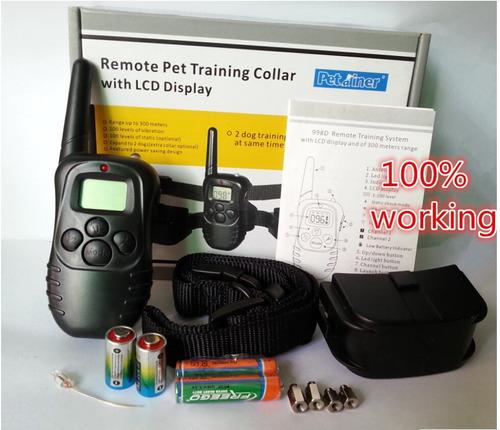 collar eléctrico entrenamiento perro envio gratis