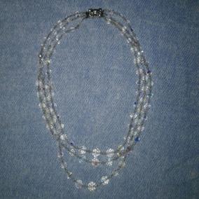 85032a030448 Collar Cristal De Roca Colores - Joyas y Relojes Antiguos en Capital ...