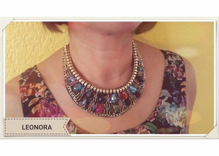 a41f2358419b Collar En Pedreria De Fantasia Varios Colores -   170.00 en Mercado ...