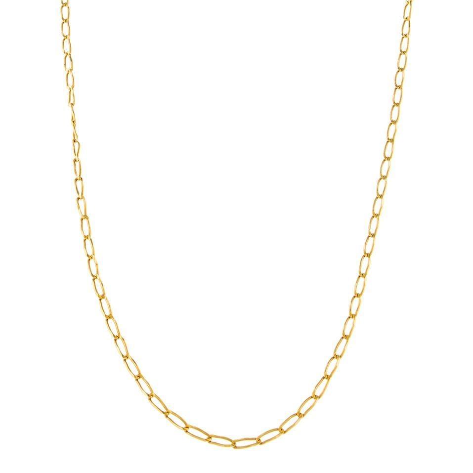 9ee1787992e0 Collar Eslabón Encontrado Oro Amarillo. - $ 4,843.00
