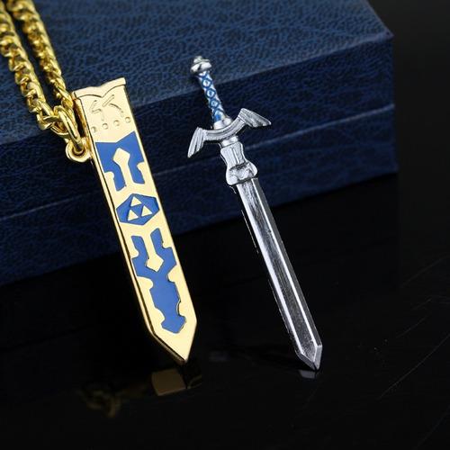 collar espada de link legend of zelda link en acero