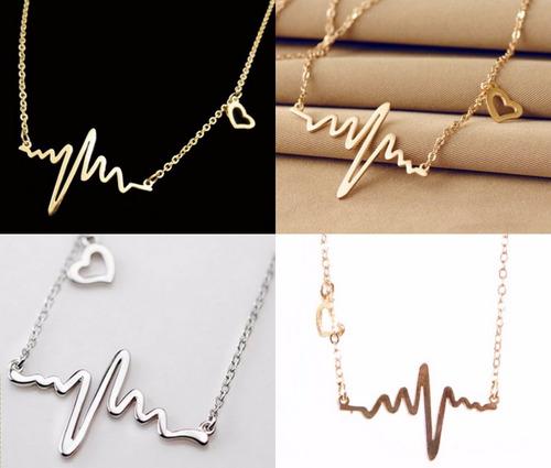 collar etnico color dama corazon de infarto fashion amor