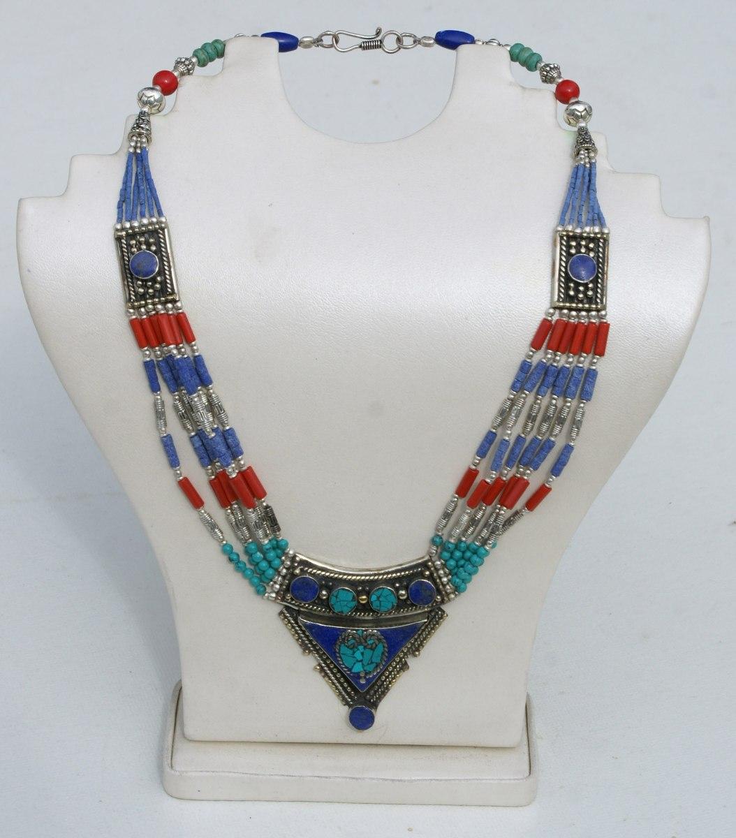 ed4f3da7eee8 collar etnico de nepal moda etnica online bisuteria moderna. Cargando zoom.