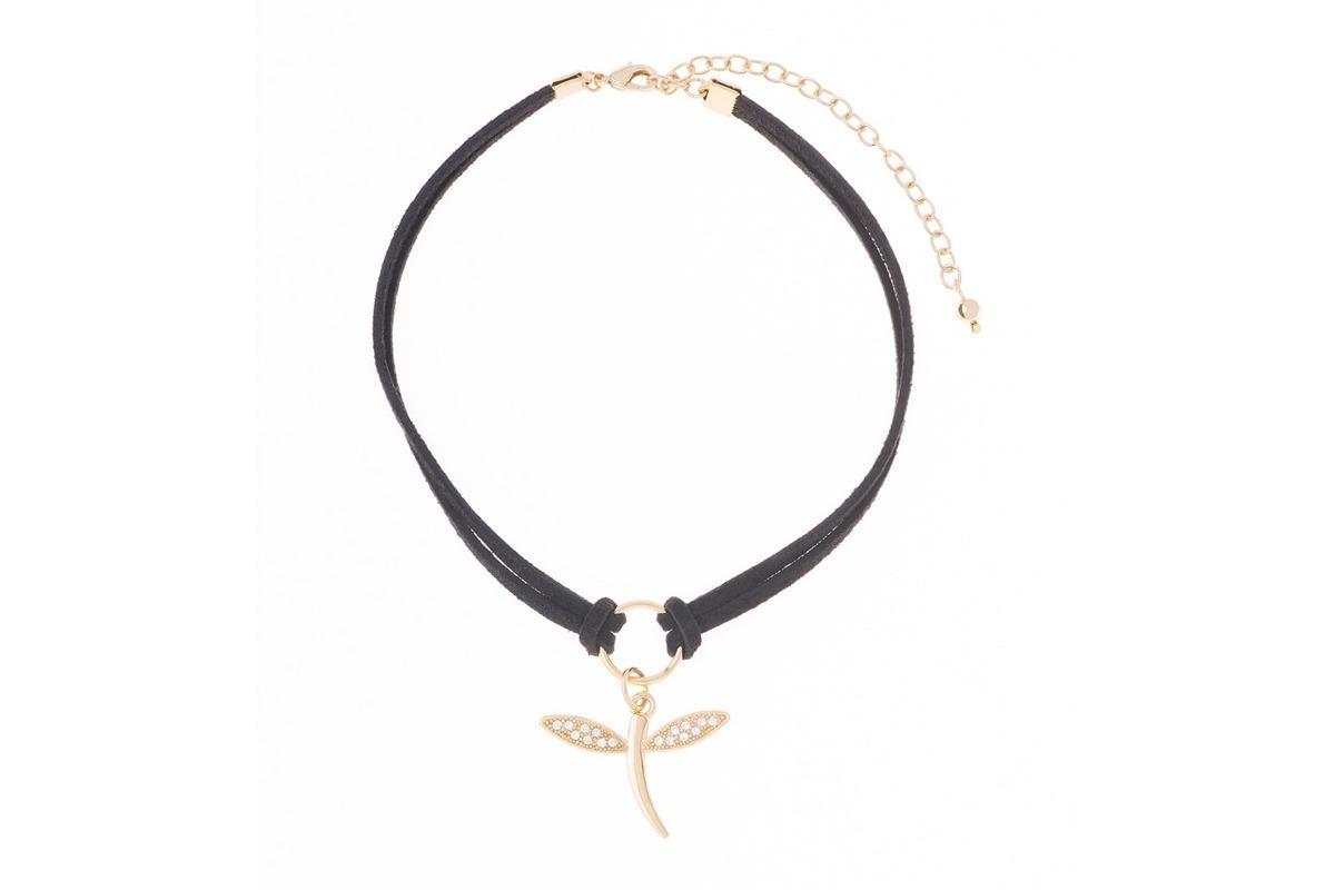 246195ee6fc9 Collar Fantasia Fina Nice Libélula 218222l -   449.00 en Mercado Libre