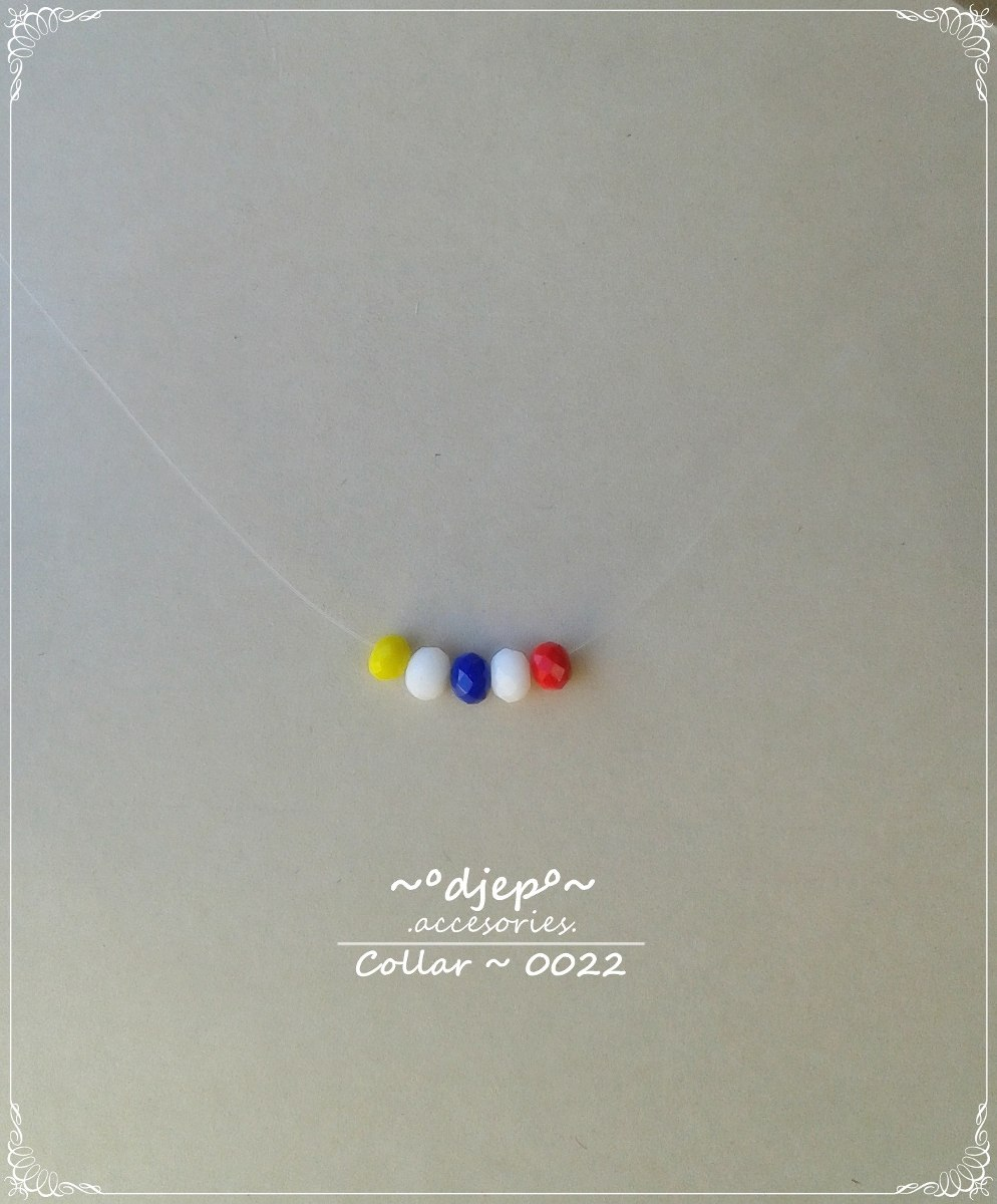 4cc8313d0cc2 collar fantasma nylon ojo turco cruces variedad moda. Cargando zoom.