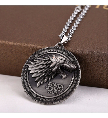 collar game of throne wolf starks badges