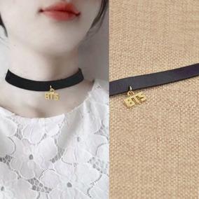 619212b756b8 Collar Bts Kpop - Collares y Cadenas Sin Piedras en Mercado Libre México