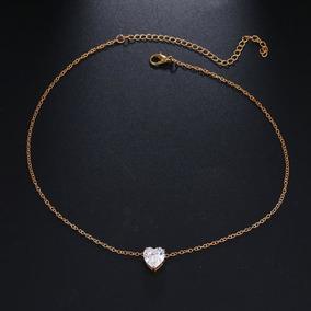 46cd58565e8e Gargantilla De Oro Para Mujer - Relojes y Joyas en Mercado Libre Colombia