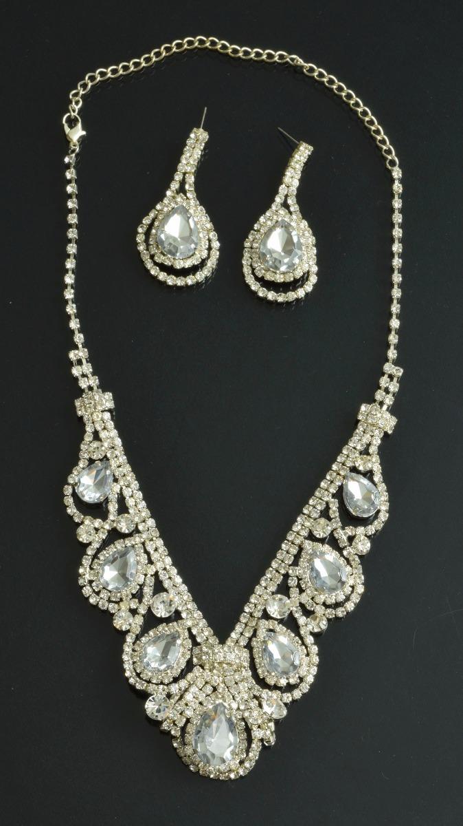 aa481fd97cb9 collar gargantilla y pendientes alta bisuteria - import. Cargando zoom.