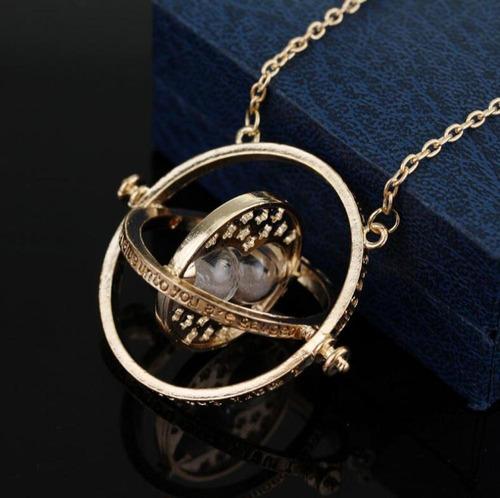 collar giratiempo hermione  harry potter / happy store