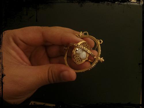 collar giratiempo hermione saga harry potter (gira)
