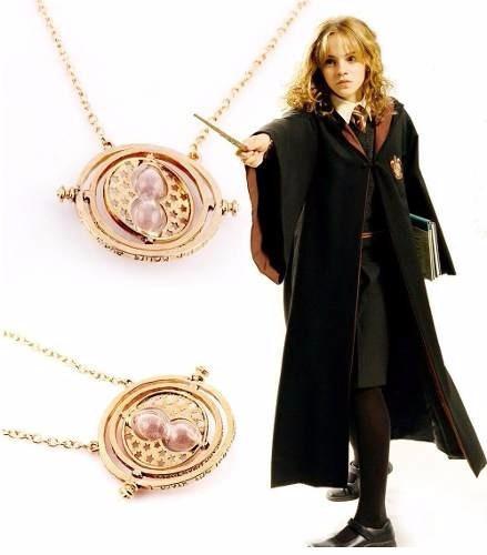 collar harry potter hermione gira tiempo