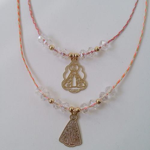 collar hilo chino con cristales antoaccesorios