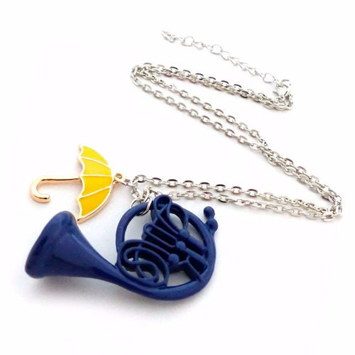 collar how i met your mother envio gratis trompeta azul dije