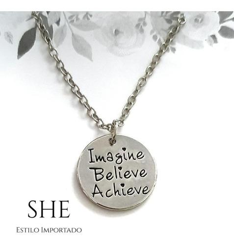 collar imagine believe achieve