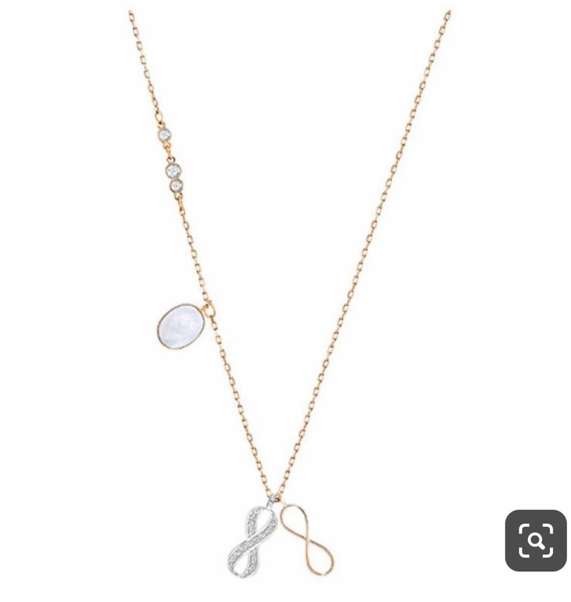 3aca832fcec1 Collar Infinito Infinity Swarovski - $ 1,300.00