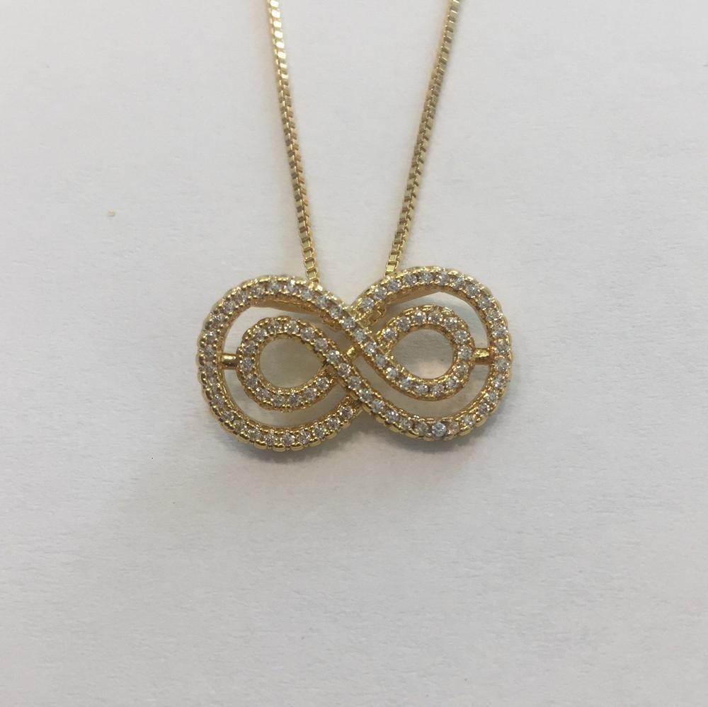 37ae259648ec Collar Infinito   Oro -   300.00 en Mercado Libre