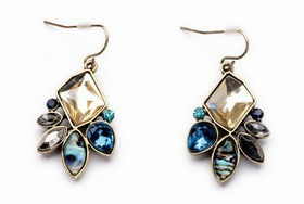 collar joyería cristales joyas
