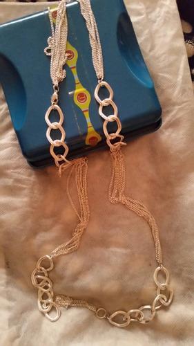 collar largo bisuteria fina cristian lay