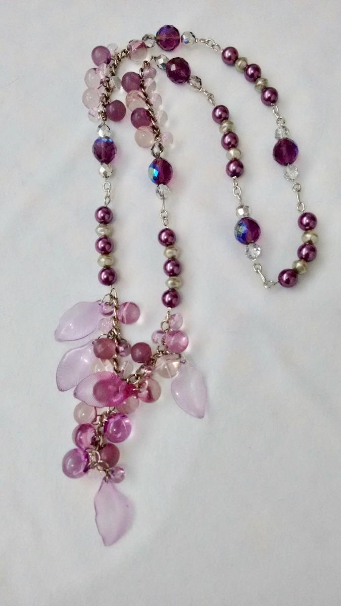 47b520c339ad Collar Largo Con Cristales Swarovski