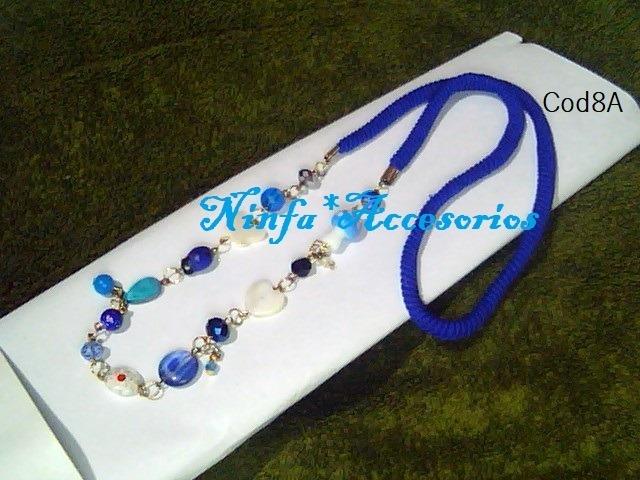 7a5264ab061e Collar Largocon Cristal Y Piedras Variadas Combo 3 Piezas - Bs ...