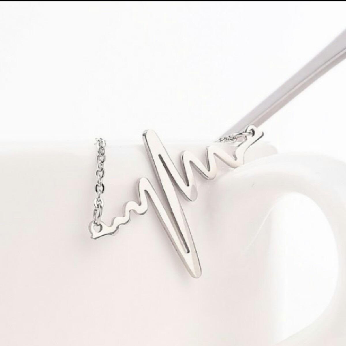 diseño de variedad nueva colección ahorre hasta 60% Collar Latido De Corazón. Regalo Para Doctores O Enfermeras