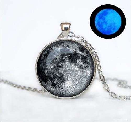 collar luna llena brilla en la obscuridad moonlight