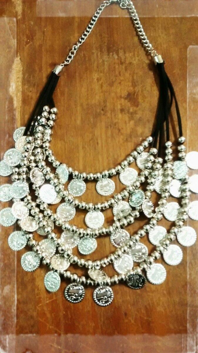 739cbed98fca Collar Maxi Pechera. Monedas! -   250
